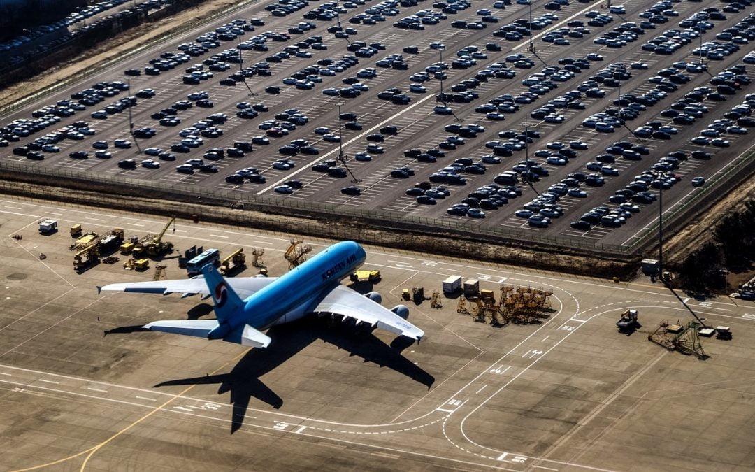 Parkeren op de luchthaven is goedkoop en gemakkelijk